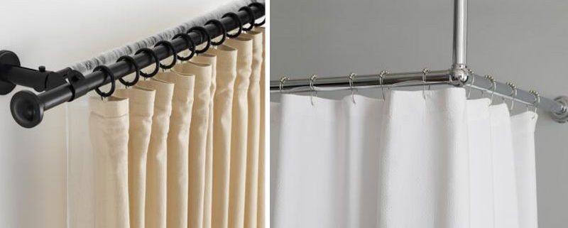 Curtain Rod Or Rail, Which One Is Better