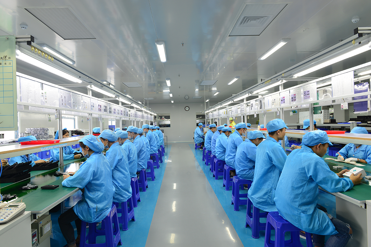 electronic cigarette workshop in China factory